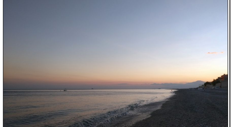 PILATI BEACH, tramonto di fine estate  -2017